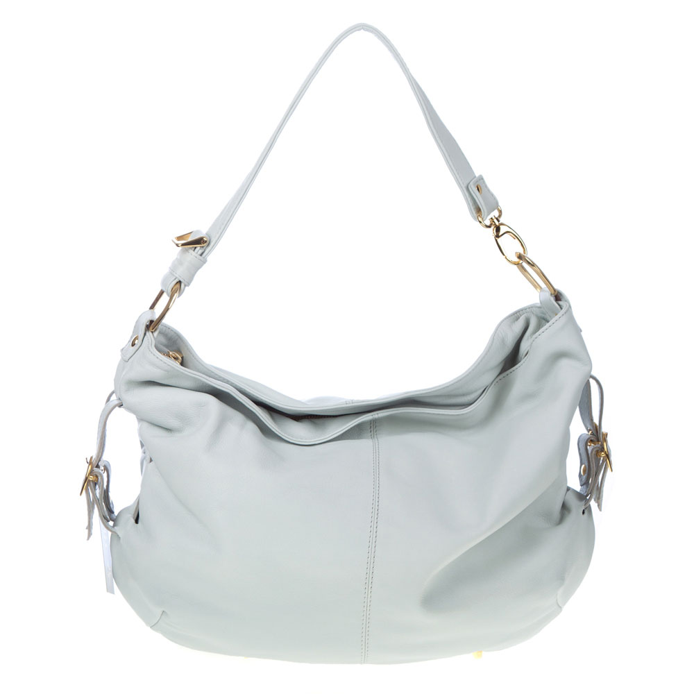 ... handbag light blue apparel accessories handbags hobo handbags female