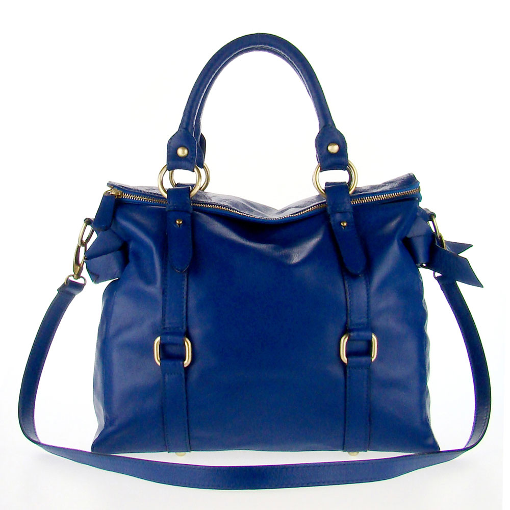 ... handbag blue apparel accessories handbags tote handbags female adult