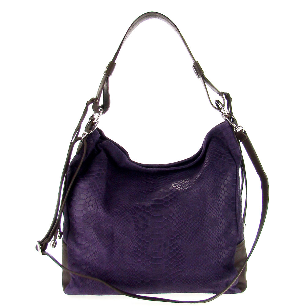 ... handbag purple apparel accessories handbags hobo handbags female adult