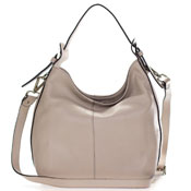 Gianni Chiarini Italian Made Beige Leather Hobo Bag