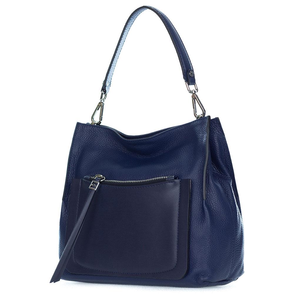 f684c3e543b113 Navy Pebbled Leather Handbags Designer | Stanford Center for ...