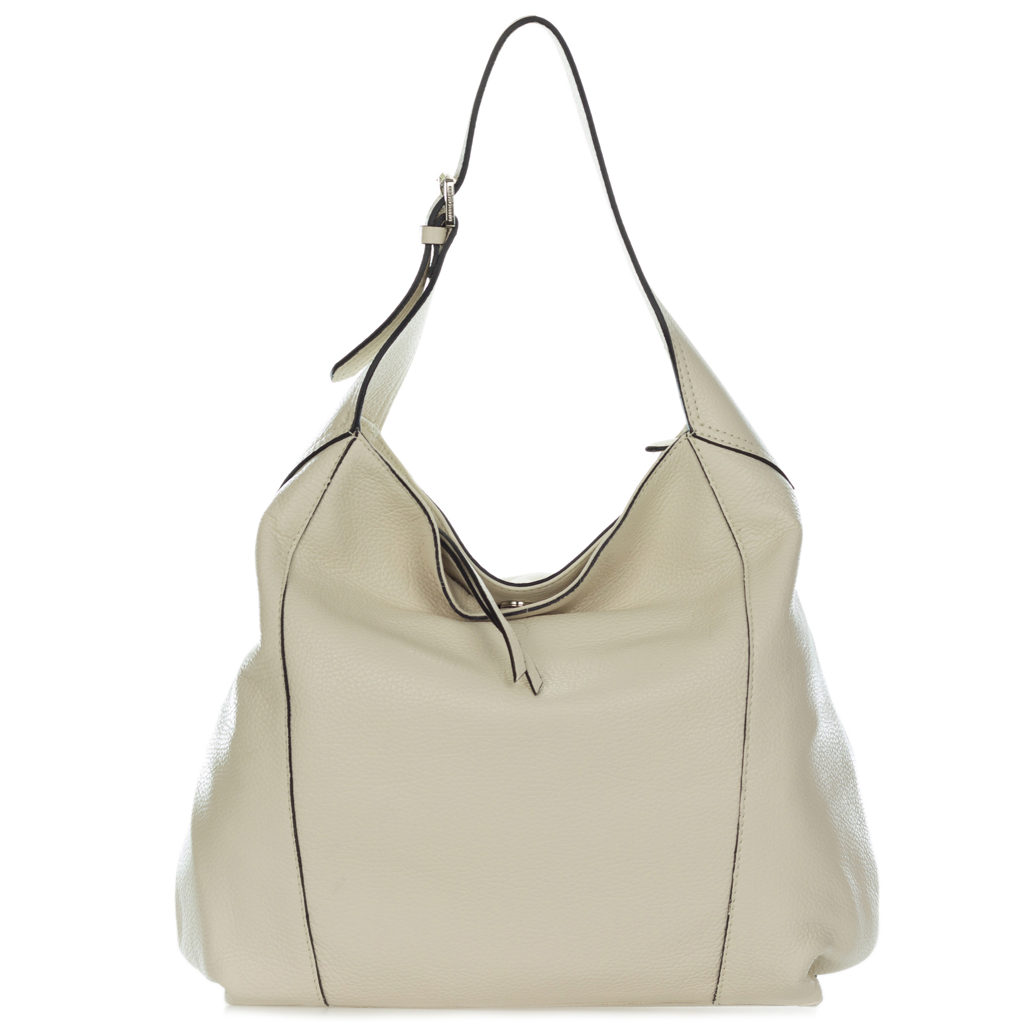 79d68c5d32 Add to My Lists. Gianni Chiarini Italian Made Light Beige Leather Large  Hobo Bag